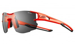 Julbo Aerolite Prescription Sunglasses - Clip-On Insert - Matte Fluo Orange & Black / Reactiv Performance 0-3 Photochromic