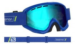 Salomon Juke Ski Goggles - Race Blue / Universal Mid Blue
