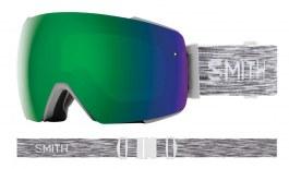 Smith I/O MAG Ski Goggles - Cloudgrey / ChromaPop Sun Green Mirror + ChromaPop Storm Rose Flash