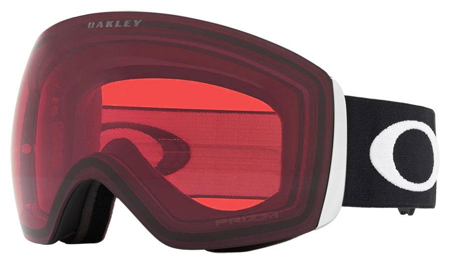 Oakley Flight Deck Ski Goggles - Matte Black / Prizm Rose