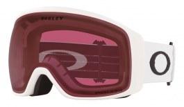 Oakley Flight Tracker XL Ski Goggles - Matte White / Prizm Dark Grey