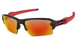 Oakley Flak 2.0 XL Sunglasses - Polished Black / Prizm Ruby