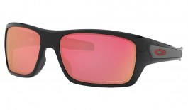 Oakley Turbine Sunglasses - Polished Black / Prizm Snow Torch