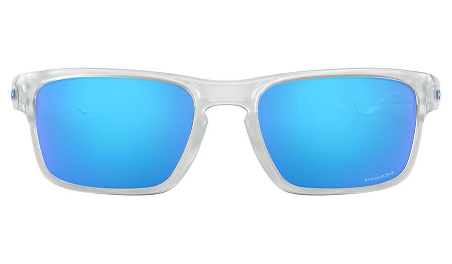 d3642f795ea11 Oakley Sliver Stealth Sunglasses - Matte Clear   Prizm Sapphire ...