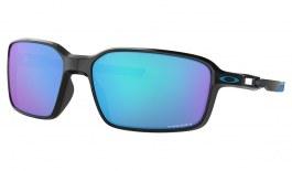 Oakley Siphon Sunglasses - Polished Black / Prizm Sapphire
