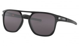 Oakley Latch Beta Sunglasses - Matte Black / Prizm Grey