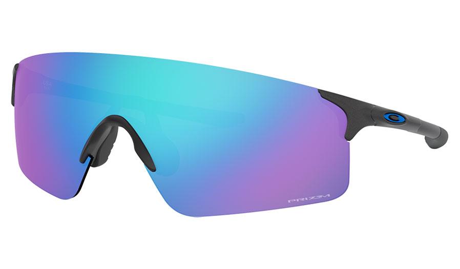 Oakley EVZero Blades Sunglasses - Steel / Prizm Sapphire