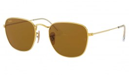 Ray-Ban RB3857 Frank Sunglasses - Legend Gold / Brown
