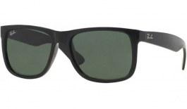 Ray-Ban RB4165 Justin Sunglasses - Black / Green