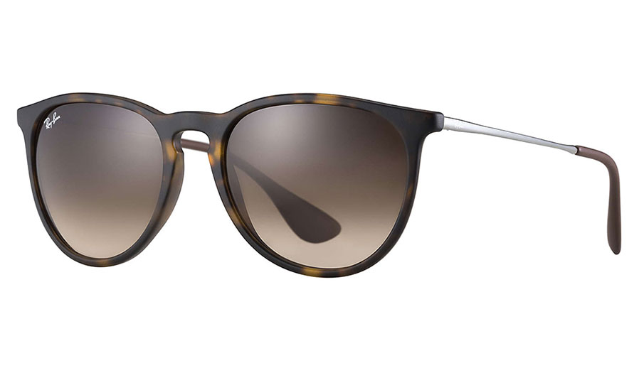 6823e23b4be Ray-Ban RB4171 Erika Sunglasses - Brown Rubber   Brown Gradient - RxSport