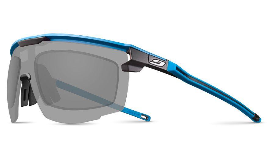 Julbo Ultimate Prescription Sunglasses - Directly Glazed - Matte Blue & Black