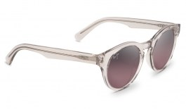 Maui Jim Dragonfly Sunglasses - Crystal with a Hint of Pink / Maui Rose Polarised