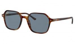 Ray-Ban RB2194 John Sunglasses - Striped Havana / Blue