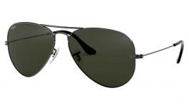 Ray-Ban RB3025 Aviator Sunglasses - Gunmetal / Green