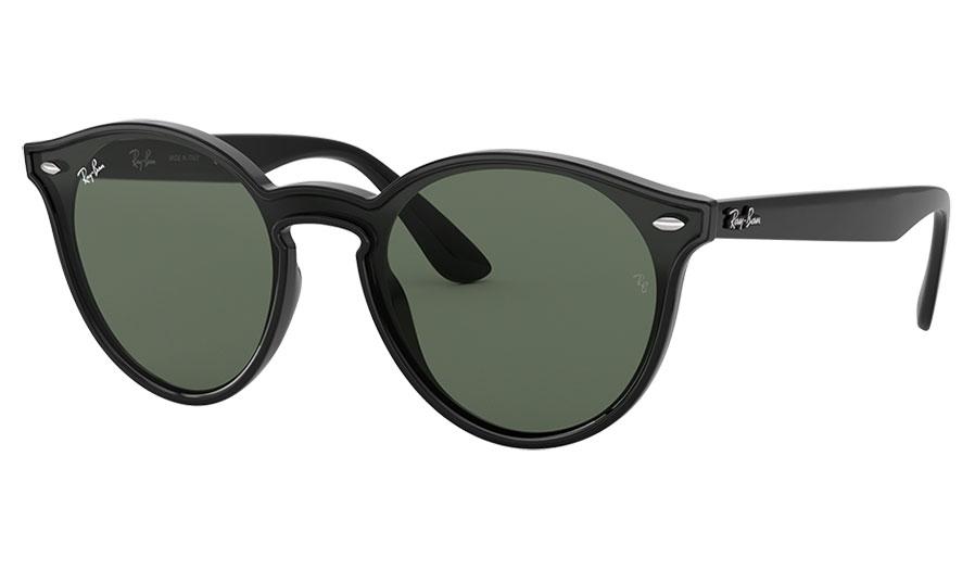 Ray-Ban RB4380N Blaze Sunglasses - Black / Green