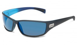 Bolle Python Sunglasses - Matte Black & Blue / Offshore Blue HD Polarised