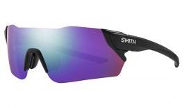 Smith Attack MAG Sunglasses - Matte Black / ChromaPop Violet Mirror + ChromaPop Contrast Rose