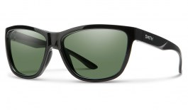 Smith Eclipse Sunglasses - Black / ChromaPop Grey Green Polarised