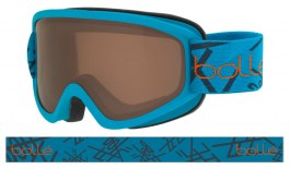 Bolle Freeze Ski Goggles - Matte Blue / Bronze