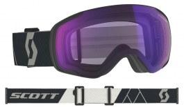 Scott Vapor Ski Goggles - Mountain Black / Light Sensitive Blue Chrome Photochromic