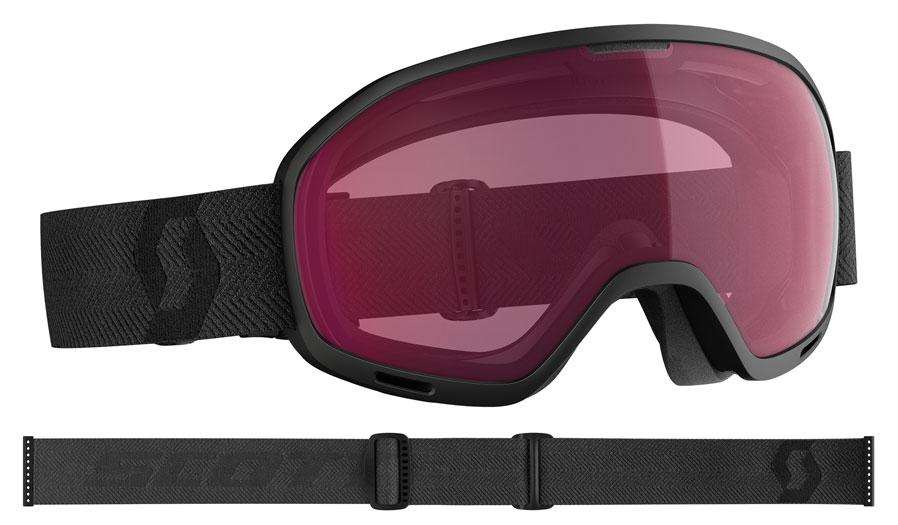 Scott Unlimited II Prescription Ski Goggles - Black / Enhancer