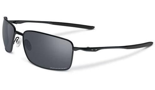 3058644bf30 Oakley Square Wire Sunglasses. Frame  Matte Black. Lens  Black Iridium  Polarised. SKU  OO4075-05