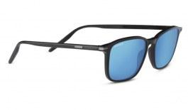 Serengeti Lenwood Sunglasses - Shiny Black / 555nm Blue Polarised Photochromic