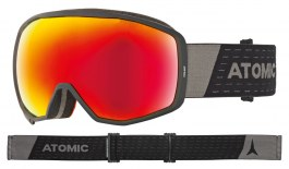Atomic Count Ski Goggles - Black / Red Stereo HD