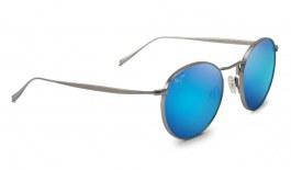 Maui Jim Nautilus Sunglasses - Titanium / Blue Hawaii Polarised