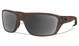 Oakley Split Shot Prescription Sunglasses - Matte Brown Tortoise (Gunmetal Icon)