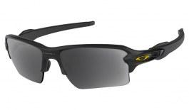 Oakley Flak 2.0 XL Prescription Sunglasses - Matte Black (Gold Icon)