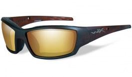 ed8625a00a Wiley X Tide Sunglasses - Matte Black   Green Blue Mirror Polarised ...