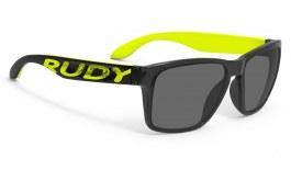 Rudy Project Spinhawk Prescription Sunglasses - Crystal Ash & Fluo Yellow