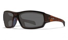 Wiley X Breach Prescription Sunglasses - Matte Hickory Brown