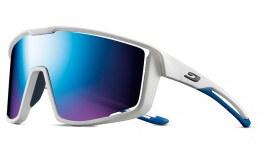 Julbo Fury Sunglasses - White & Blue / Spectron 3 CF Blue