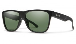Smith Lowdown XL 2 Sunglasses - Matte Black / Chromapop Grey Green Polarised