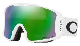 Oakley Line Miner Ski Goggles - Matte White / Prizm Jade Iridium