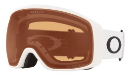 Oakley Flight Tracker XL Ski Goggles - Matte White / Prizm Persimmon