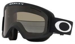 Oakley O Frame 2.0 Pro XM Prescription Ski Goggles - Matte Black / Dark Grey + Persimmon