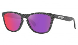 Oakley Frogskins Sunglasses - Origins Collection Carbon Fibre / Prizm Road