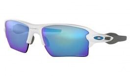 Oakley Flak 2.0 XL Sunglasses - Polished White / Prizm Sapphire