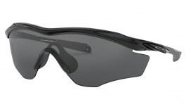 Oakley M2 Frame XL Sunglasses - Polished Black / Grey