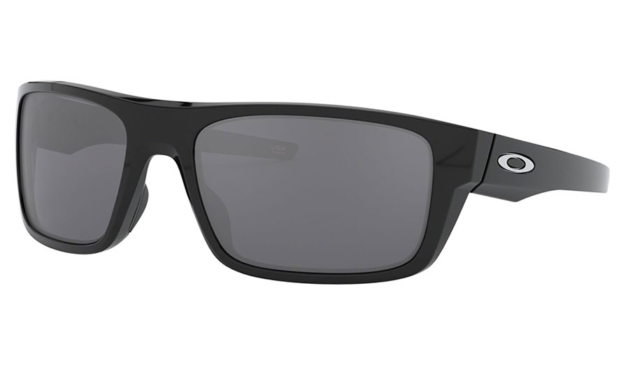 Oakley Drop Point Sunglasses - Polished Black / Black Iridium