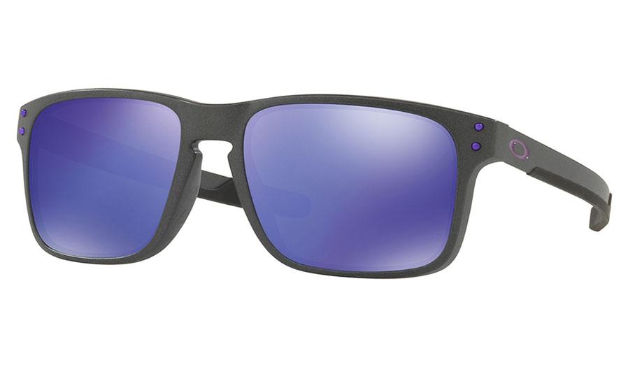 63ac210956 Oakley Holbrook Mix Sunglasses - Steel   Violet Iridium - RxSport