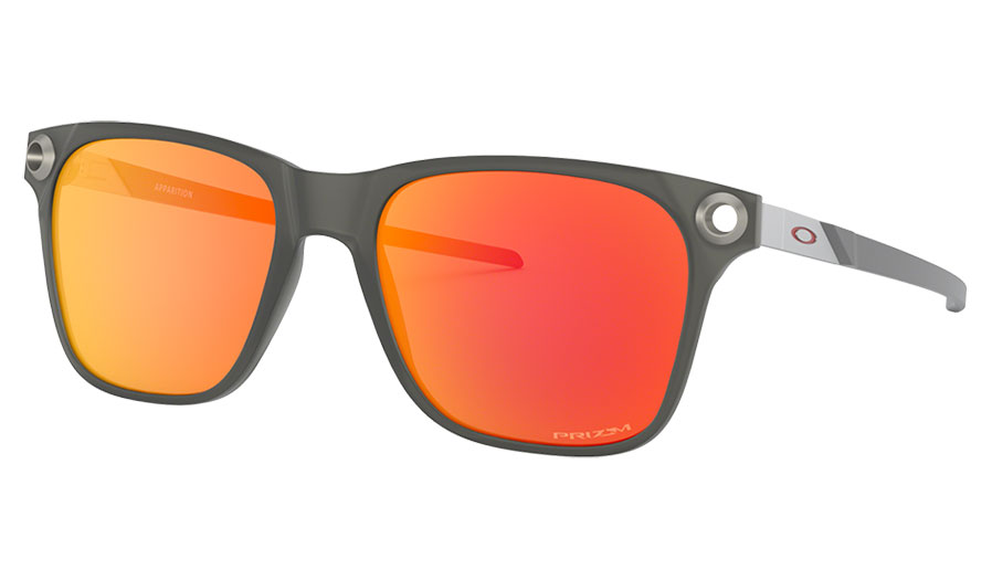Oakley Apparition Sunglasses - Satin Black Ink / Prizm Ruby