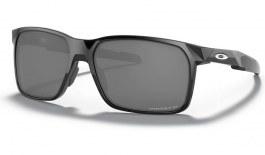 Oakley Portal X Sunglasses - Polished Black / Prizm Black Polarised