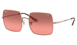 Ray-Ban RB1971 Square Sunglasses - Bronze Copper / Red Gradient Evolve Photochromic