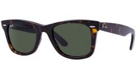 Ray-Ban RB2140 Original Wayfarer Sunglasses - Tortoise / Green (G-15)