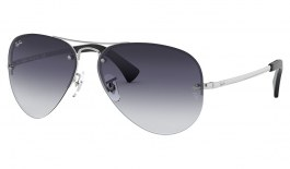 Ray-Ban RB3449 Sunglasses - Silver / Grey Gradient