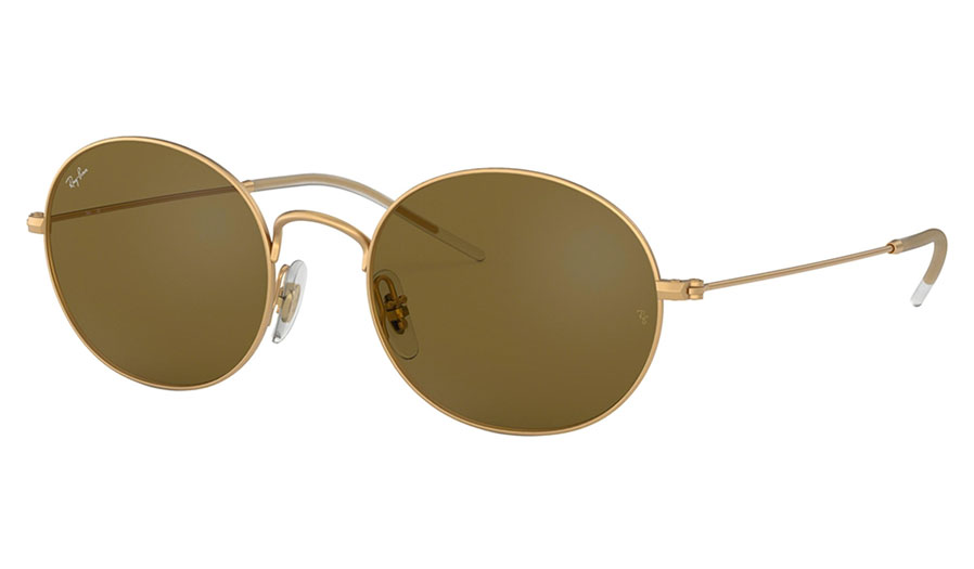 Ray-Ban RB3594 Beat Sunglasses - Gold / Brown